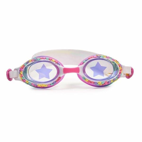 Duikbril met gekleurde sterretjes