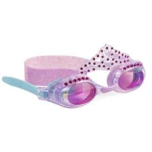 Lila duikbril met tiara.