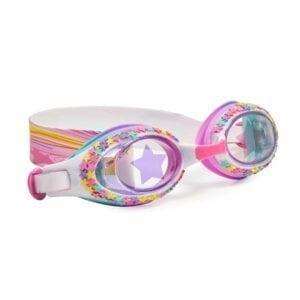 Duikbril met gekleurde sterretjes.