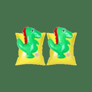 Zwembandjes met 3D dinosaurus