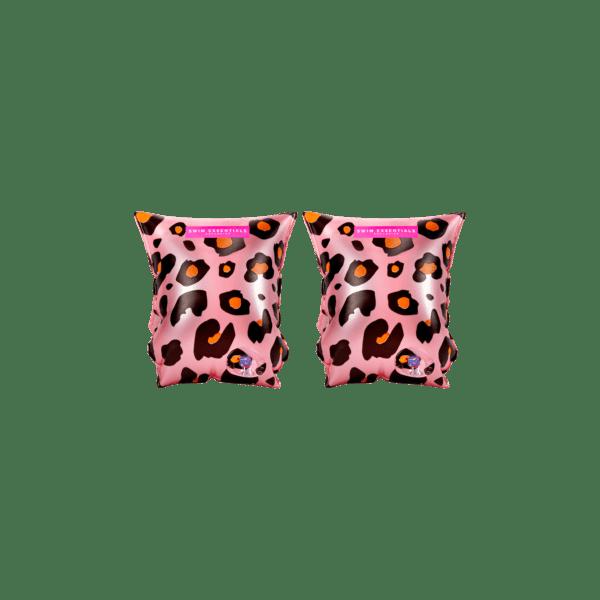 Swim Essentials Zwembandjes 2-6 jaar | Pink Leopard