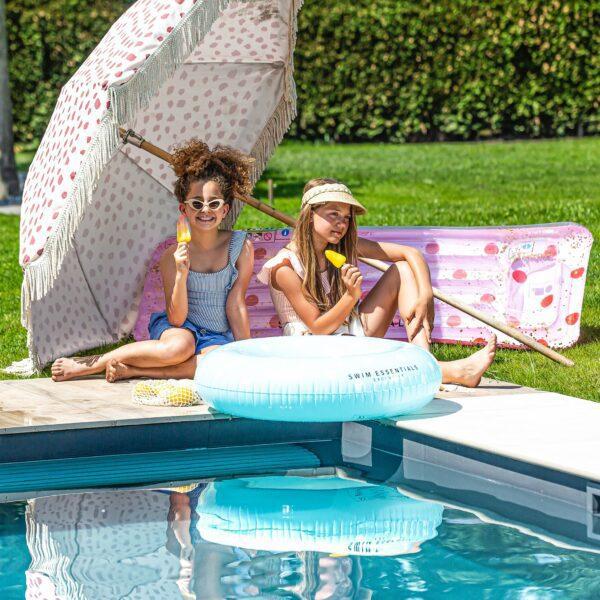 Swim Essentials Blauw Witte Zwemband